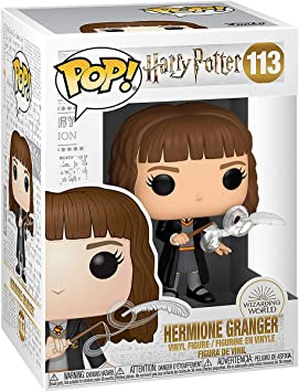 Pop! Harry Potter. Harry Potter- Hermione W/Feather: Amazon ...