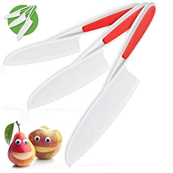 Zulay Kitchen Kid 3 Pieces Set of Chef Knife