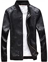 Olrek Men's Fashion Leather Jacket