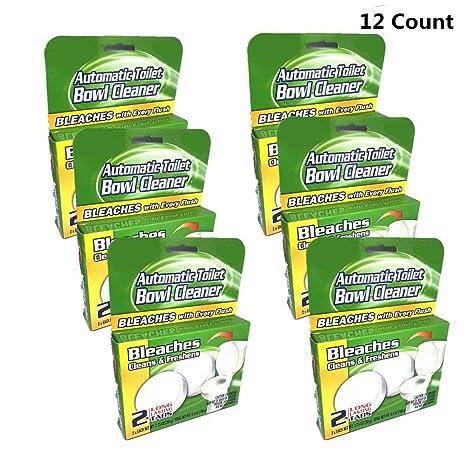Amazon.com: 12 pastillas antibacterianas para inodoro ...
