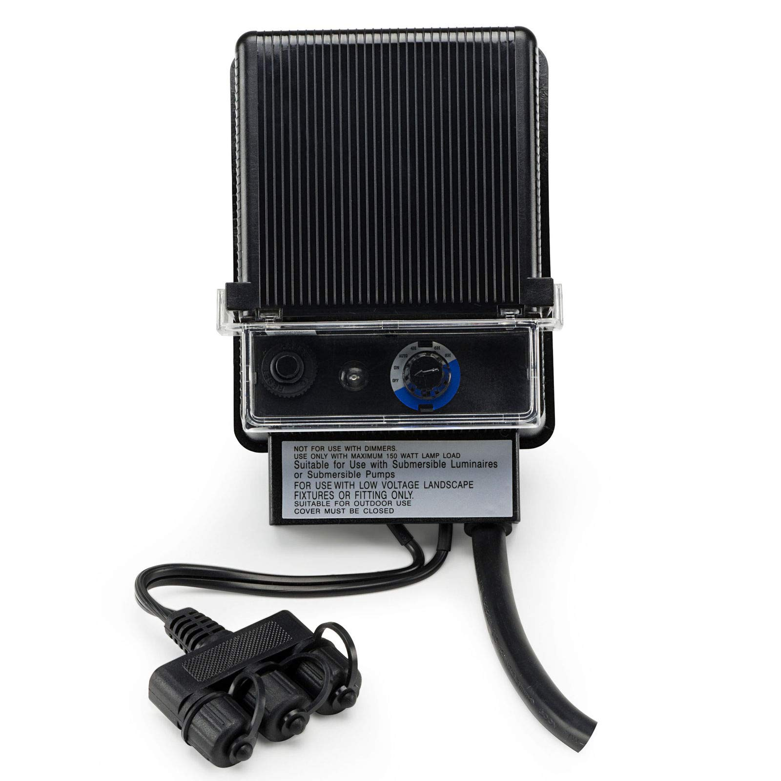 zwan Garden and Pond 150W Transformer with Photocell and Time Intervals with Ebook