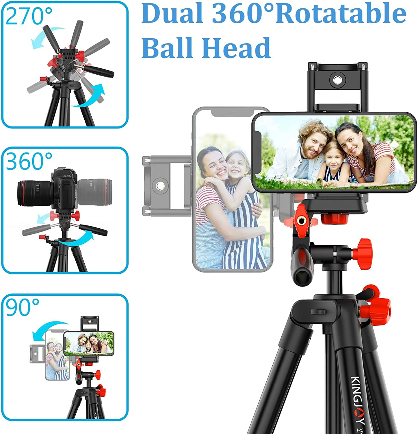 Amazon Promo Code for Camera Tripod Lightweight Phone Stand with Bluetooth