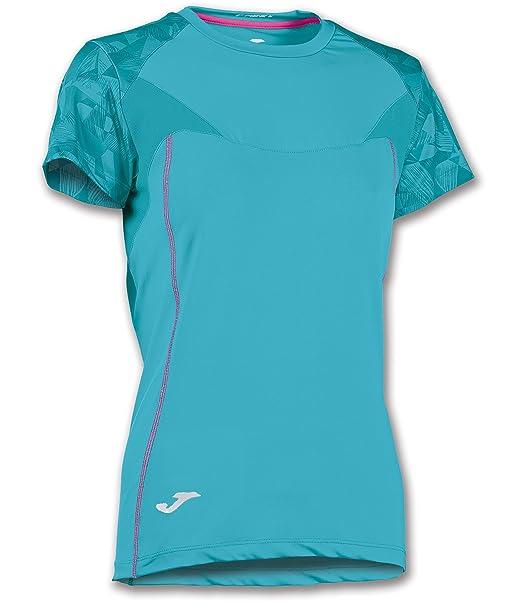 Joma Venus de Dos Tonos de la Mujer Running Camiseta: Amazon.es: Ropa y accesorios