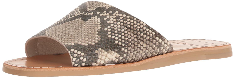 Dolce Vita Women's Cato Slide Sandal B07B9NDN49 6 B(M) US|Snake Print Embossed Leather