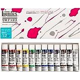 リキテックス アクリル絵具 リキテックスカラー レギュラータイプ 12色セット 伝統色 20ml(6号)