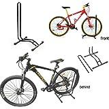 JJOnlineStore - Bike Floor Stand Sport Cycling Bicycle Bike Single Floor Parking Rack Garage Storage Stand Holder