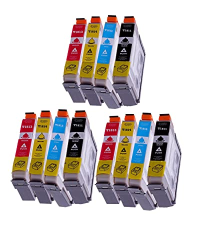 12 x Cartuchos de Tinta para Impresoras Epson (T1816) Epson T 1811 ...