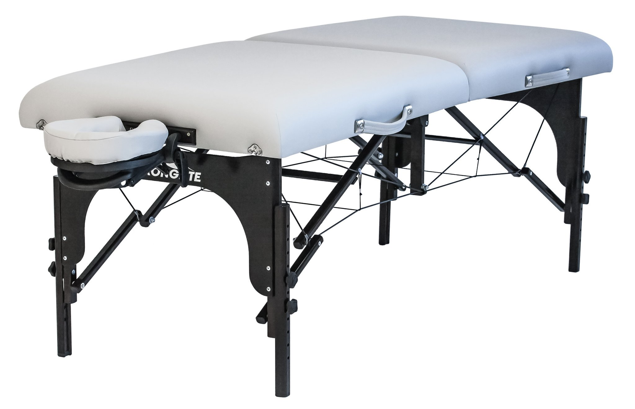 Stronglite Premier Portable Massage Table - Highest-Strength, 3'' Deluxe Foam System, Incl. Flex-Rest Headrest and Memory Foam Pillow