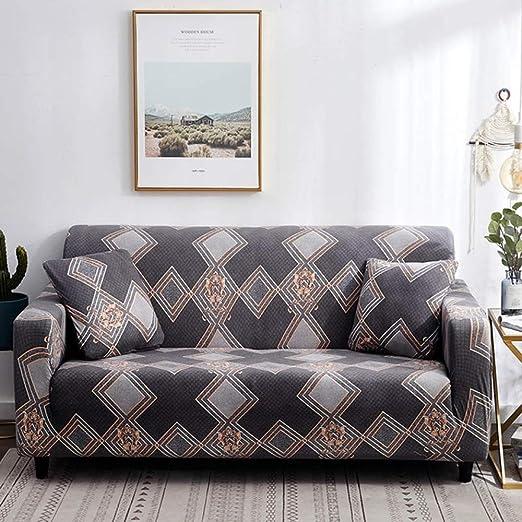 stqjh Funda de sofá Algodón Estampado Floral Sofá Toalla Funda de sofá Fundas para Sala de Estar Funda de sofá Funda Sofá Proteger Muebles,Color 12,Pillowcase-2pcs: Amazon.es: Hogar