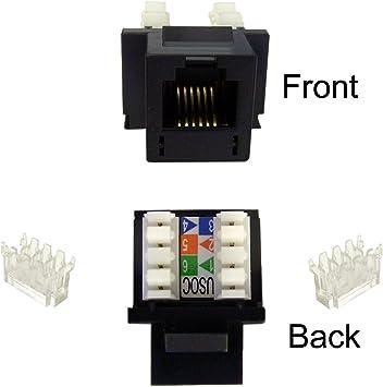 Rj12 Keystone Jack Wiring Diagram Fuse Box Guide 7way Waystar Fr
