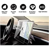 """Tesla Model 3 Model Y 15"""" Center Control Touchscreen Car Navigation Tempered Glass Touch Screen Protector, P50 P65 P80…"""