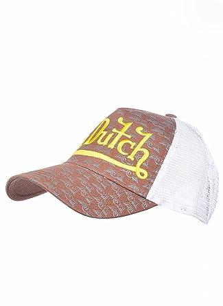 Von Dutch - Gorra de béisbol - para Hombre Marrón Brown/White Taille Unique: Amazon.es: Ropa y accesorios