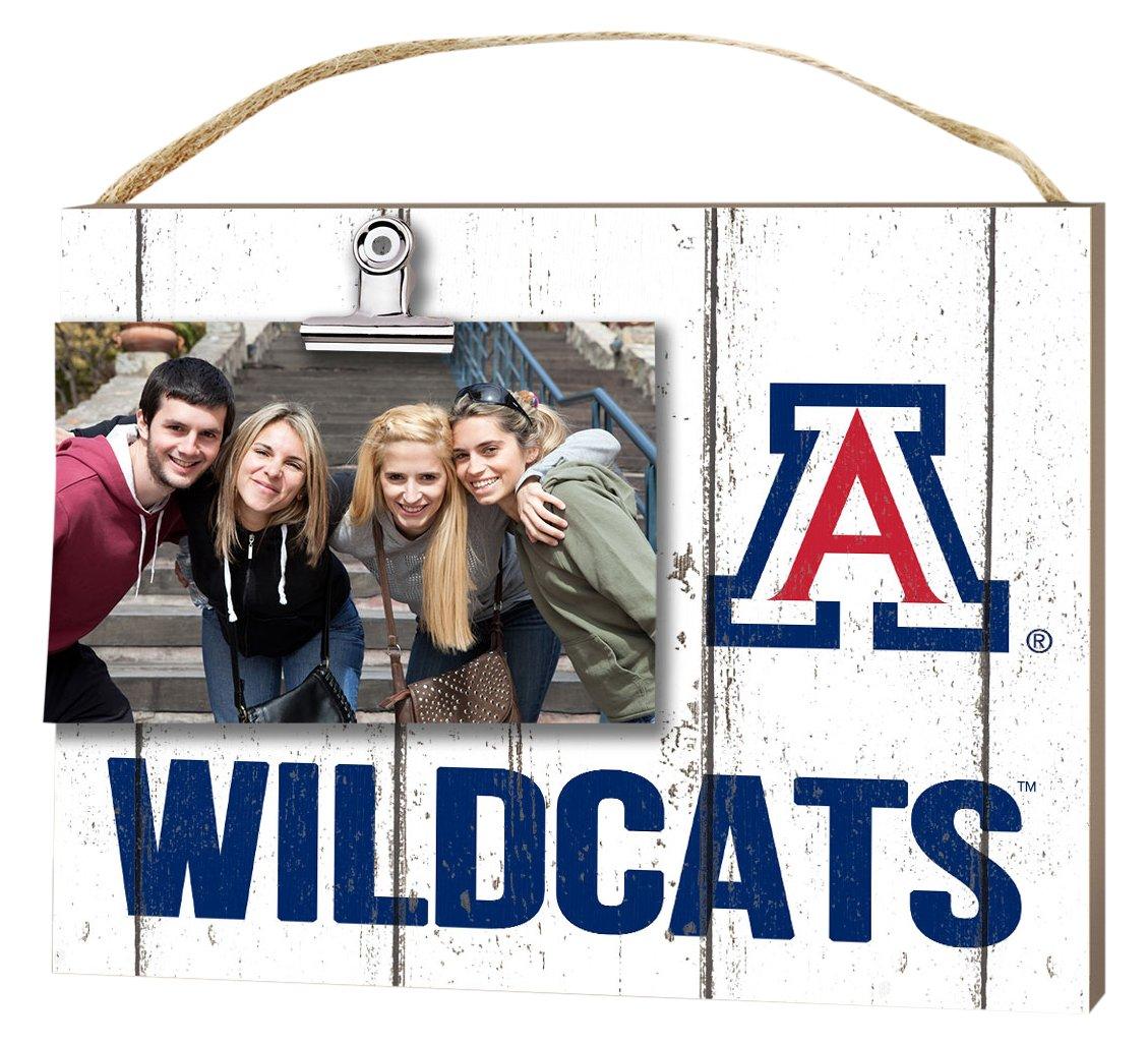 KH Sports Fan 10''x8'' Arizona Wildcats Clip It Weathered Logo Collage Photo Frame by KH Sports Fan