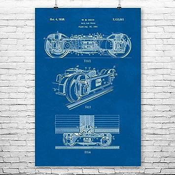 Amazon train rail car truck poster patent art print train car train rail car truck poster patent art print train car truck train truck malvernweather Choice Image