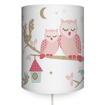 anna wand Wandlampe FUNNY FOREST GIRLS – Wandlampenschirm mit ...