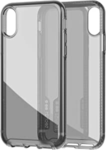 tech21 Protective Pure Tint Slim Back Case Cover for Apple iPhone XR, Carbon
