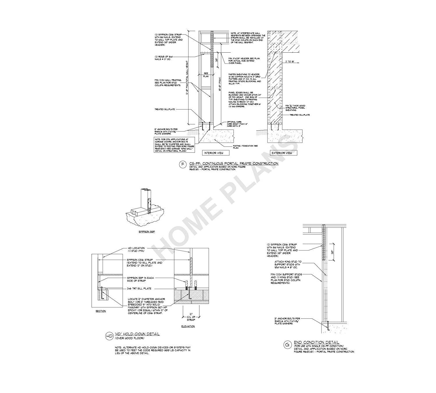 Sq Ft Htd Unht Plan P 1271 Home House Drawings Plans Autocad Design Drafting Cs Architectural Struc W Cad File Posters Prints