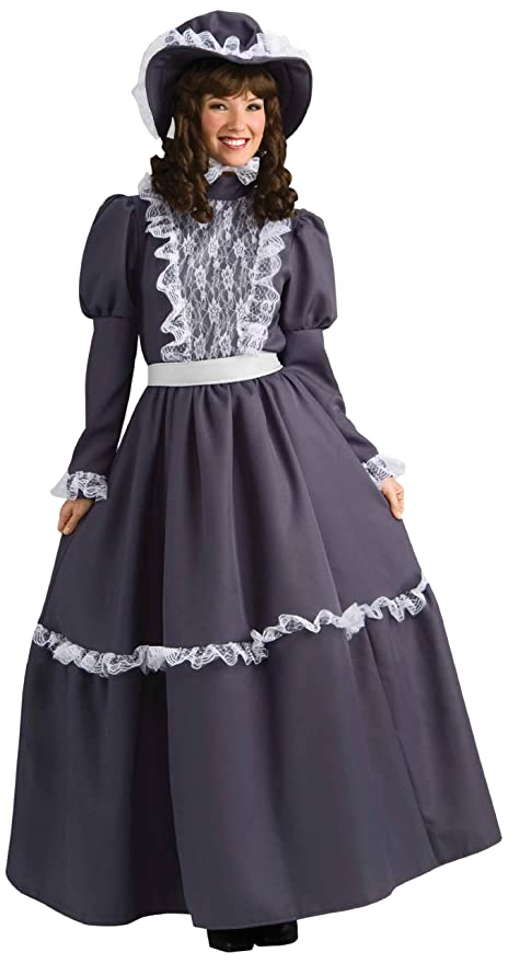 Victorian Costumes: Dresses, Saloon Girls, Southern Belle, Witch Forum Novelties Womens Prairie Lady Costume $49.64 AT vintagedancer.com