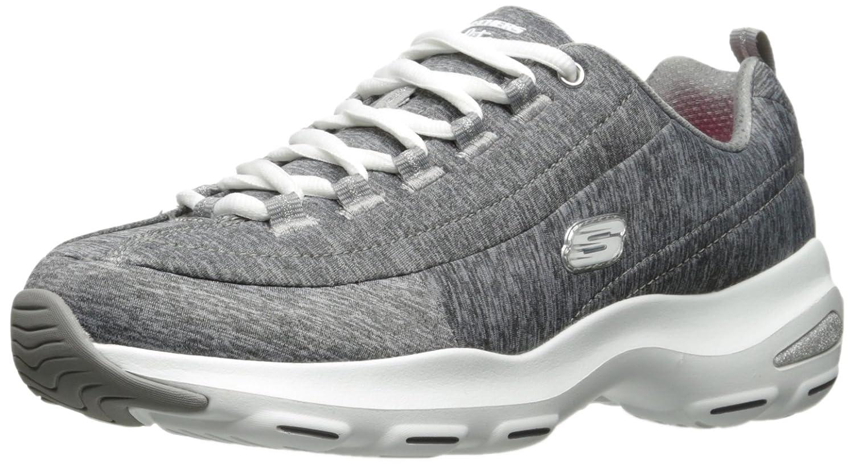 Skechers D'Lite Ultra-Illusions, Entrenadores para Mujer 38 EU Grey(grey/White)