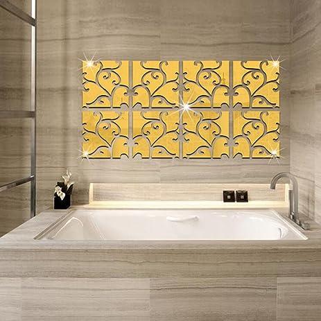 Amazon.com: Multi-pieces=1Set Modern Creative Design DIY 3D Wall ...