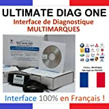 ULTIMATE DIAG ONE - Interface de diagnostic MULTIMARQUES - AUTOCOM DELPHI CAN CLIP DIAGBOX