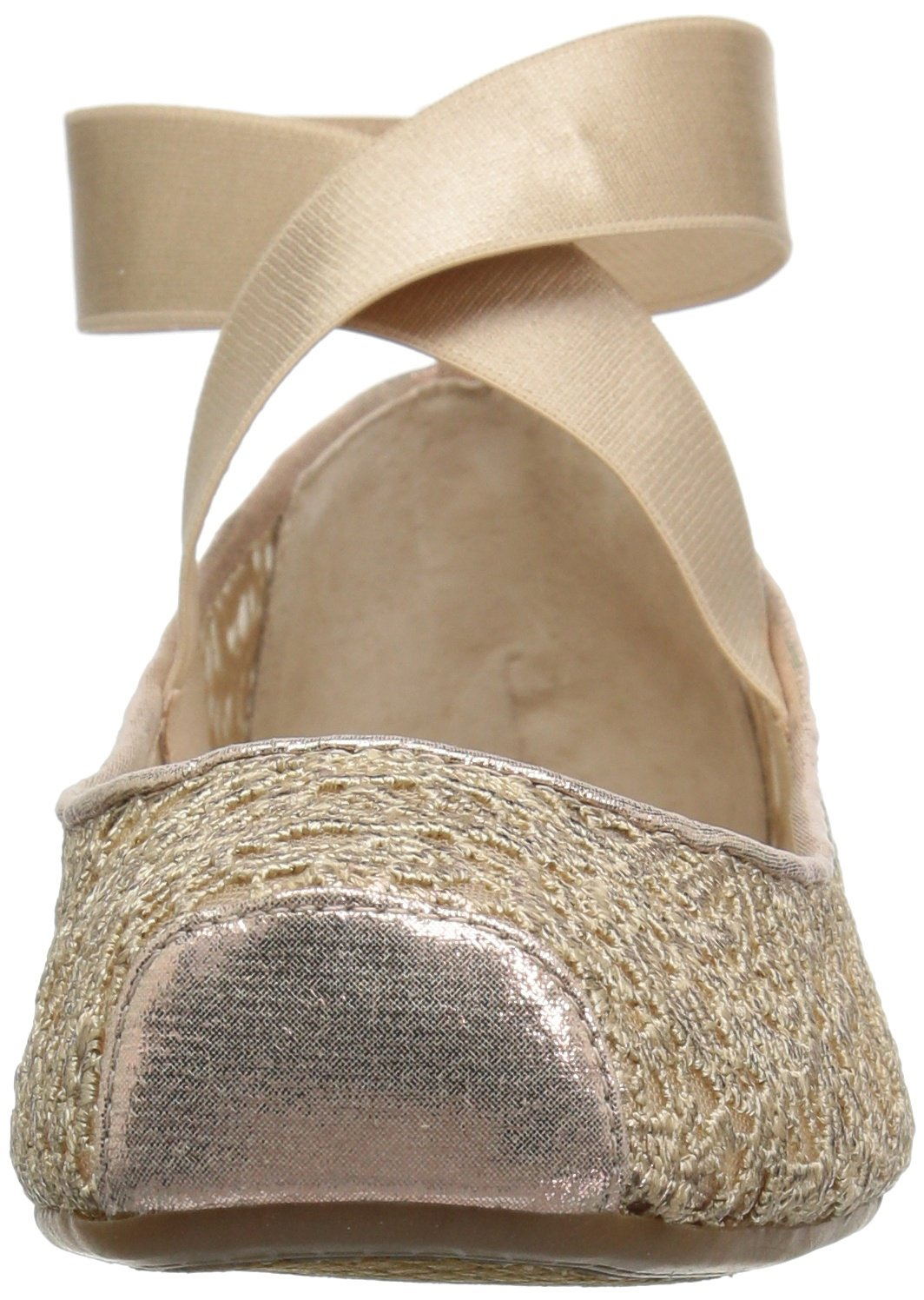 Jessica Simpson Women's 6.5 Maggda Ballet Flat B079FDQX3Z 6.5 Women's M US Champagne 2e6450
