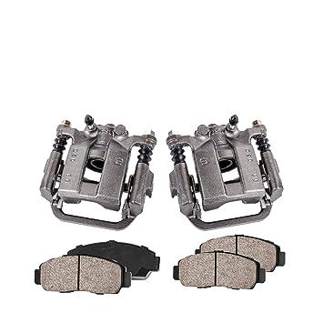 Rear Premium Ceramic Brake Pads Pair For
