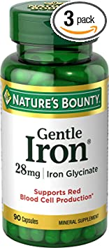 Nature's Bounty Gentle Iron 28 mg Iron Glycinate