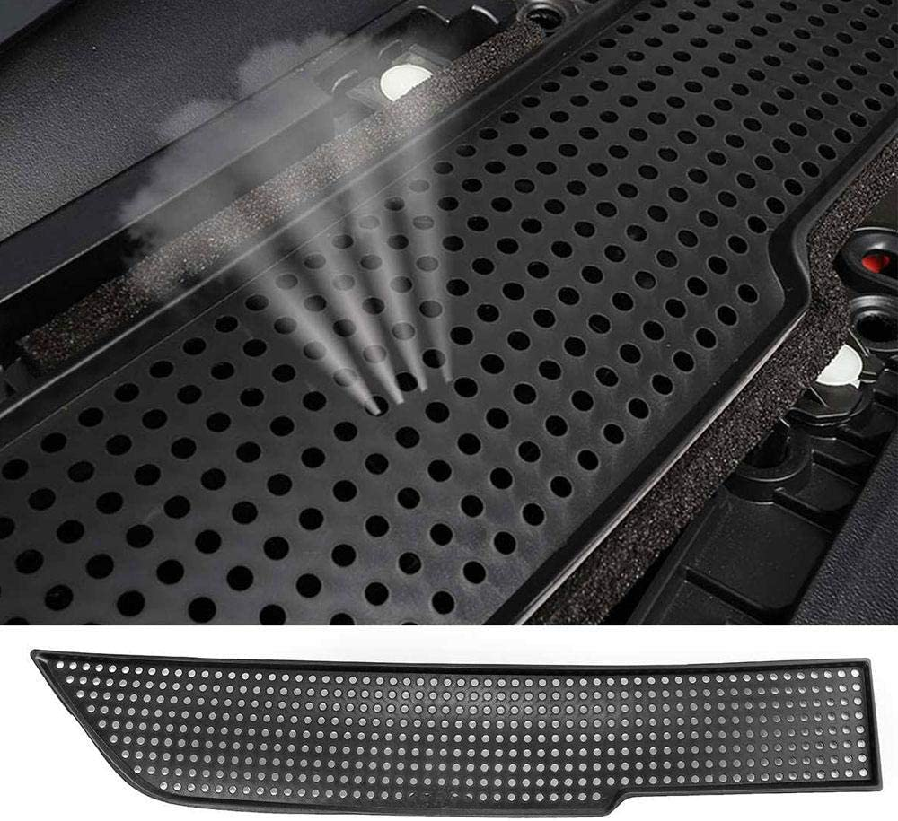 Car Interior Air Flow Vent Cover Protector Decoration for Tesla Model 3 Lesgos Tesla Model 3 Air Flow Vent Cover Air Flow Vent Protector