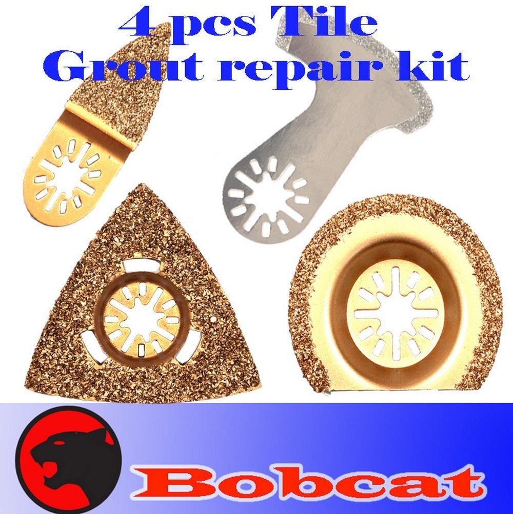 Buy 4 Pcs Grout Tile Cut Repair Kit Carbide Diamond