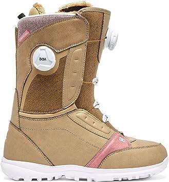DC Lotus BOA Snowboard Boots Womens Sz 8 Kelp: