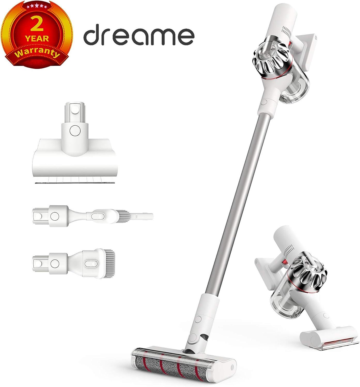Dreame V9 Pro Aspirador sin Cable de Mano inalámbrico Ligero, 4 en 1 400W 20000Pa Aspiración Fuerte Clase inalámbrico para Piso de Pelo de Mascotas