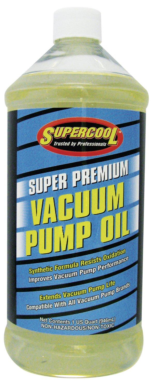 TSI Supercool Vacuum Pump Oil, Synthetic, 32 Oz, Clear (V32)
