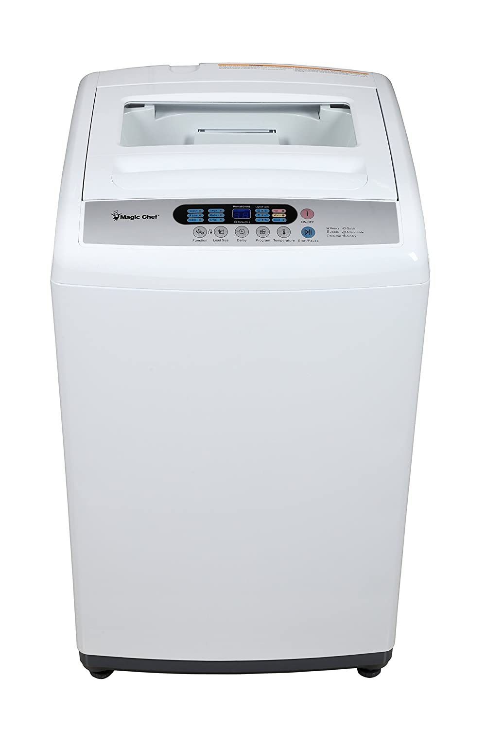 ft Topload Compact Washer White Magic Chef MCPMCSTCW16W3 MCSTCW16W3 1.6 cu