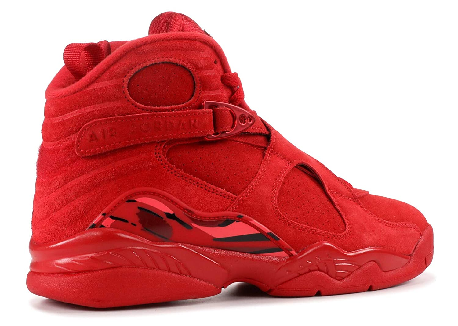 pretty nice 431e5 6aef7 Amazon.com   Nike Air Jordan VIII 8 Retro Valentin s Day 2018 WMNS Womens  AQ2449-614 US Women Size 8 Red   Basketball