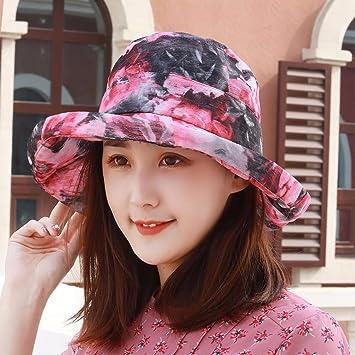 XINQING-MZ Hat la chica y la otra cara de la visera sombrero para el ... 44aca587f04