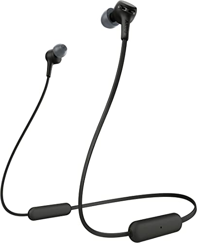 Sony WI-XB400 Wireless In-Ear Extra Bass Headset Headphones with mic for phone call, Black