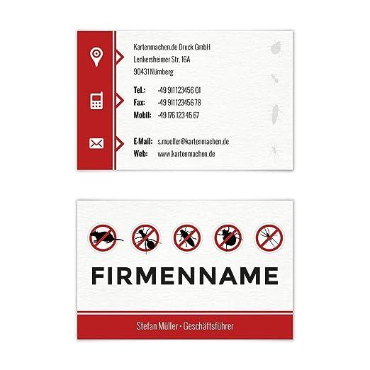 300 X Visitenkarten Individuell Business Karten 300g Qm 85 X