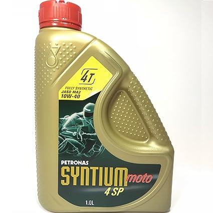 Petronas Syntium 4 SP 4 tiempos 10W40 Aceite 1ltr