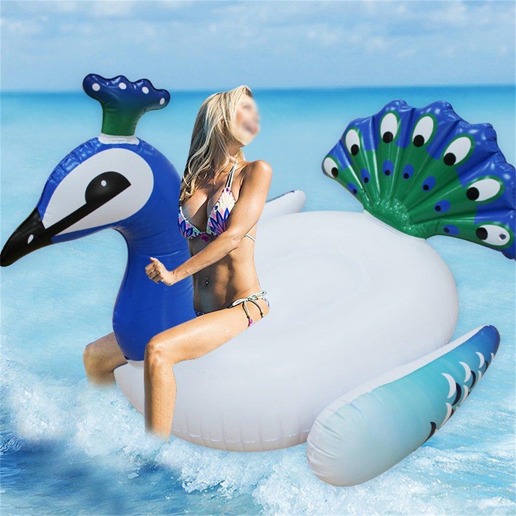 Envio gratis en todas las ordenes Silai Flotador Inflable Inflable Inflable de Pavo Real para Piscina, Juguete de relajación (140 x 105 x 90)  alta calidad y envío rápido