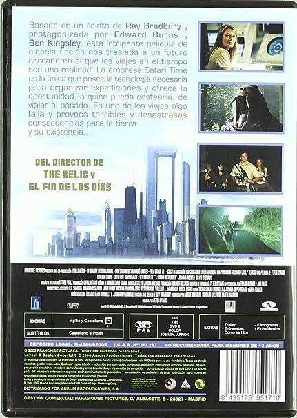 El sonido del trueno [DVD]: Amazon.es: Edward Burns, David ...