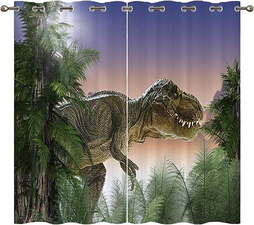 EiiChuang Dinosaur Curtains