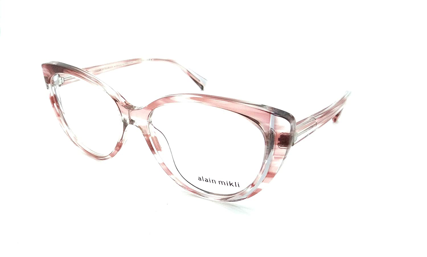 cd766433f55 Amazon.com  Alain Mikli Rx Eyeglasses Frames A03084 003 55-15-140 Paint  Pink Grey Italy  Clothing