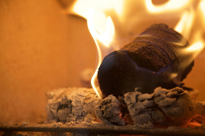 Café troncos – leño para combustible hecho de café reciclado, 16 inviernos, para un fuego prolongado: Amazon.es: Hogar