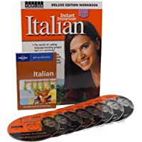 Learn to Speak Italian Language Deluxe (8 Audio CDS) w/Workbook and Phrasebook
