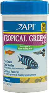 API FISH FOOD FLAKES, Formulated to help fish more readily use nutrients which means less waste and clean, clear water, Feed up to twice a day as much as they'll eat in 5 minutes