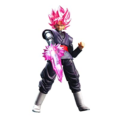 Tamashii Nations SDCC 2020 Exclusive S.H. Figuarts Dragonball Goku Black Super Saiyan Rose DBZ: Toys & Games