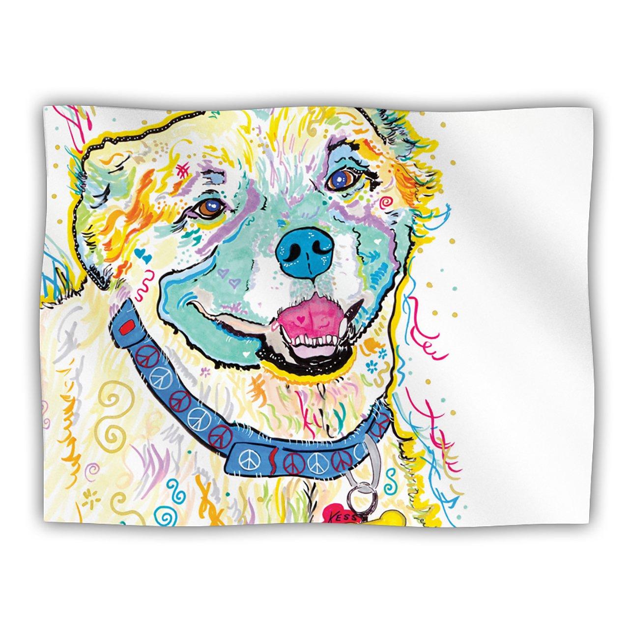 Kess InHouse Rebecca Fischer Milo Pet Dog Blanket, 40 by 30-Inch