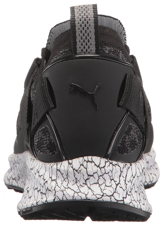 PUMA Women's Ignite Evoknit Lo Hypernature Wn Sneaker B01N0RENAQ 8 M US|Puma Black-quiet Shade
