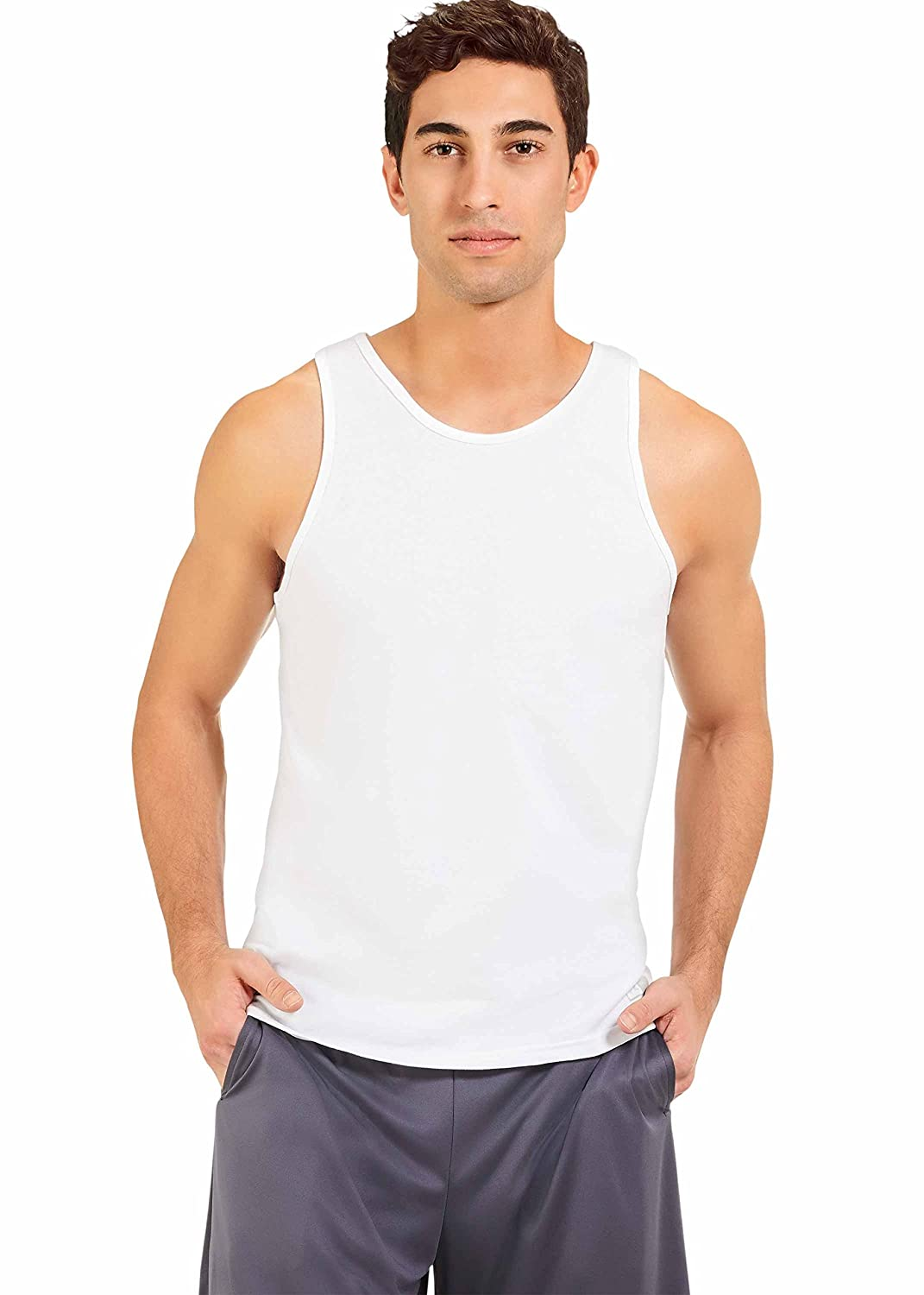 Russell Athletic mens standard Essenital Men's Tank 64TTTM0